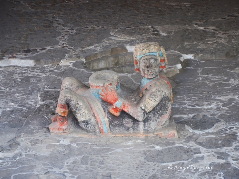 Chac mool at Tlaloc Shrine
